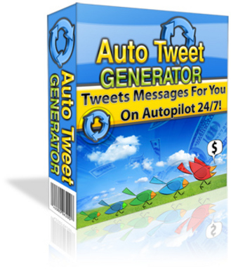 Product picture AUTO TWEET GENERATOR Script With MRR