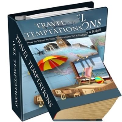 Product picture Travel Temptations With PLR + BONUS